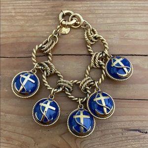 Jcrew Anchor Bauble Bracelet